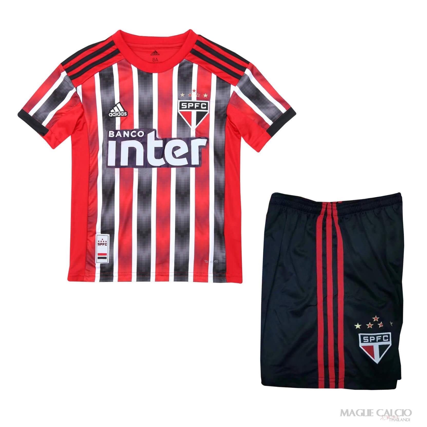 Originali Vendita São Paulo Bambino Maglie Calcio Thailandi